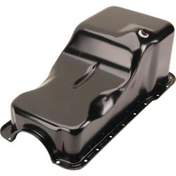 1962-1982 Small Block Ford 221-260-289-302 Oil Pan, Front Sump, Black