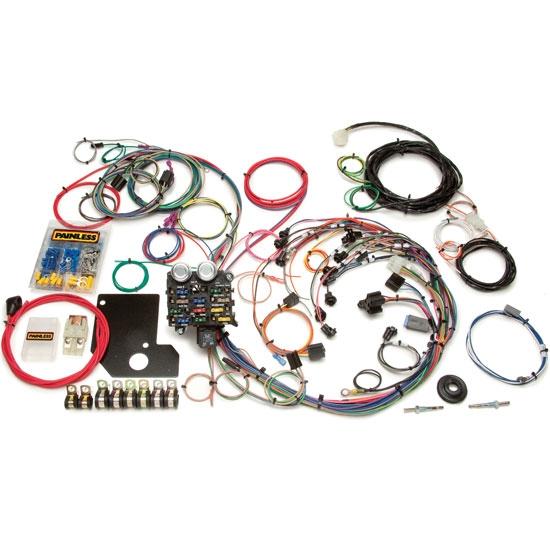 Painless 20110 19661967 Chevy    II      Nova    21 Circuit    Wiring    Harness