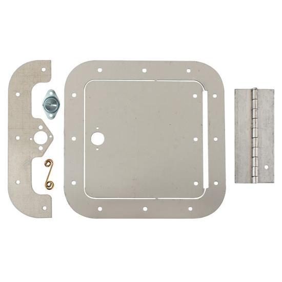 Aluminum Access Doors : Universal aluminum access door inch