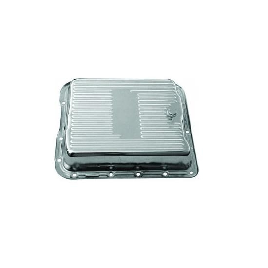700R4 Transmission Pan-Chrome Steel