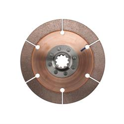 Quarter Master 126080RY 7 1/4 Inch Clutch Disc Pack, 1-1/8 10 Spline