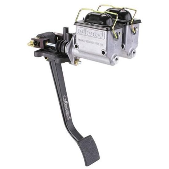 Wilwood Reverse Swing Mount Dual Master Cylinder Pedal Assembly