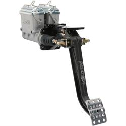 AFCO Swing Mount Dual Master Cylinder Pedal Assembly