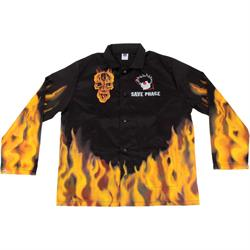 Save Phace Flames Welding Jacket