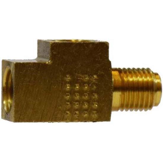 Brass brake tee fitting iff ifm