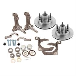 IMCA Short Arm 3-Piece Spindle with Speedway Rotors Set