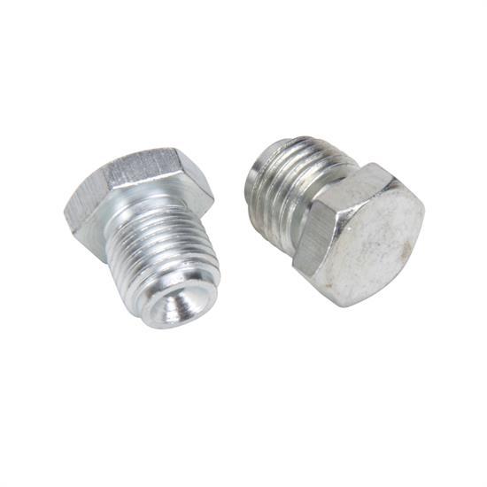 Master Cylinder Plugs 1 2 Quot 20 Amp 9 16 Quot 18 Zinc Finish
