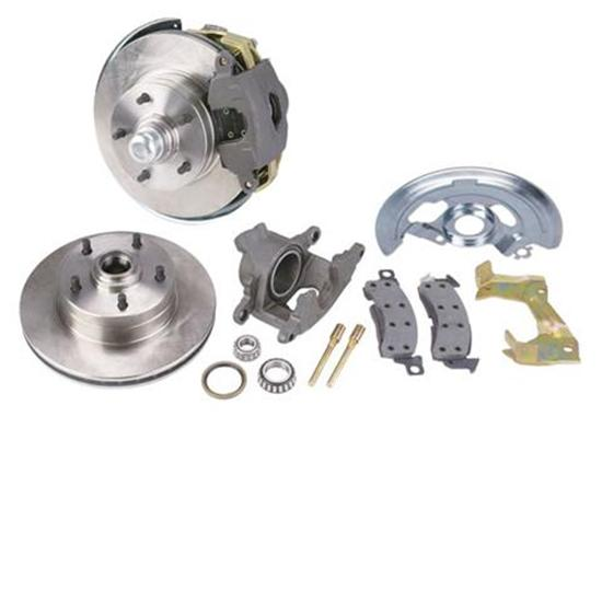 Speedway Deluxe 1964-74 GM Car Front Disc Brake Kit