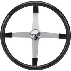 Competition Dish Steering Wheel, 17 Inch