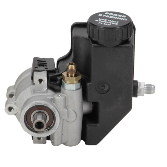 GM High-Flow Lightweight Aluminum Power Steering Pump w ...