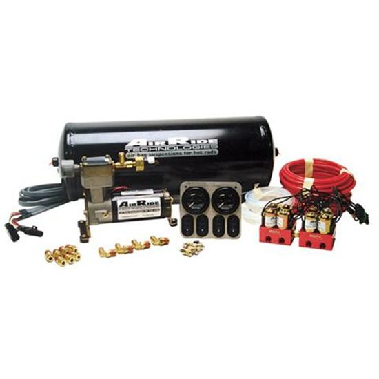RideTech 30154000 Air Ride Suspension RidePro 4-Wheel Compressor Kit