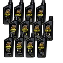 Champion Racing 4111H 20W50 Racing Oil, 12 Quarts