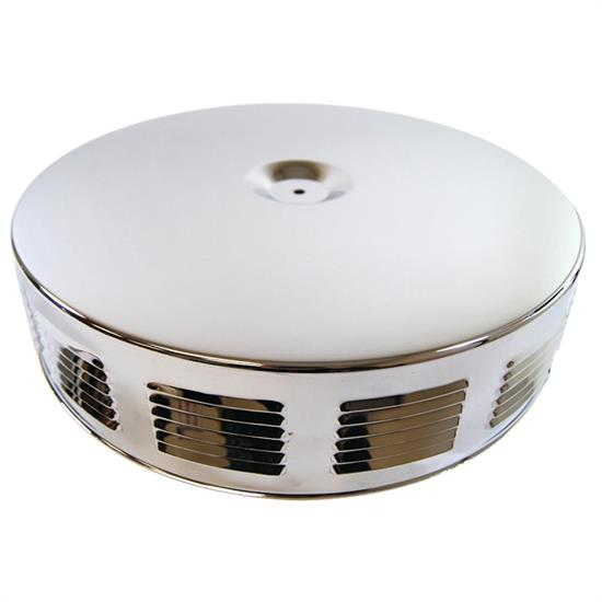 14 Inch Louvered Corvette/GTO Style Air Cleaner