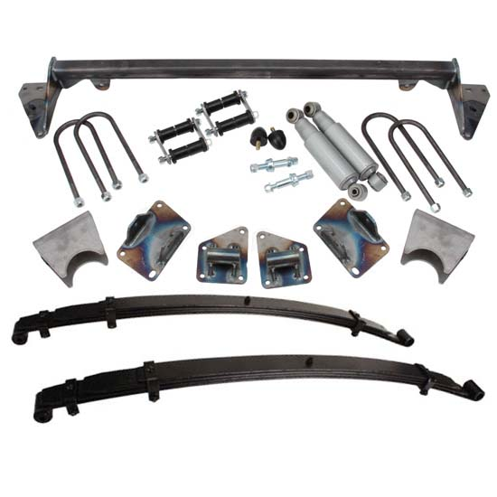 TCI 1937-39 Chevy Car Rear Leaf Spring Kit