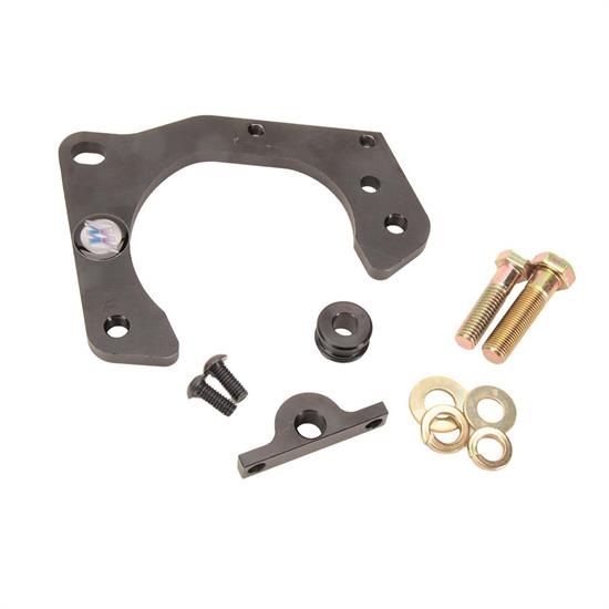 Front Disc Brake Caliper Support Spring Set: Wehrs Machine WM303 Front Metric Caliper Bracket For Pinto