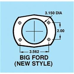 9 Inch Ford Housing with Metric Brackets, 60-3/4 Inch Hub-to-Hub Width