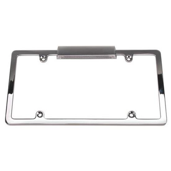 Speedway Lighted Chrome License Plate Frame