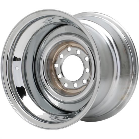Speedway Smoothie 15x10 Steel Wheels, 5 on 5/5.5, 4.5 BS