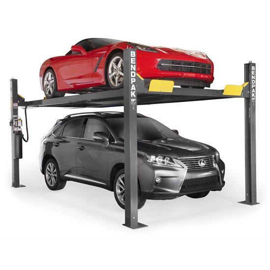 BendPak HD-9XW Four Post Lift, 9,000 Pound Lifting Capacity