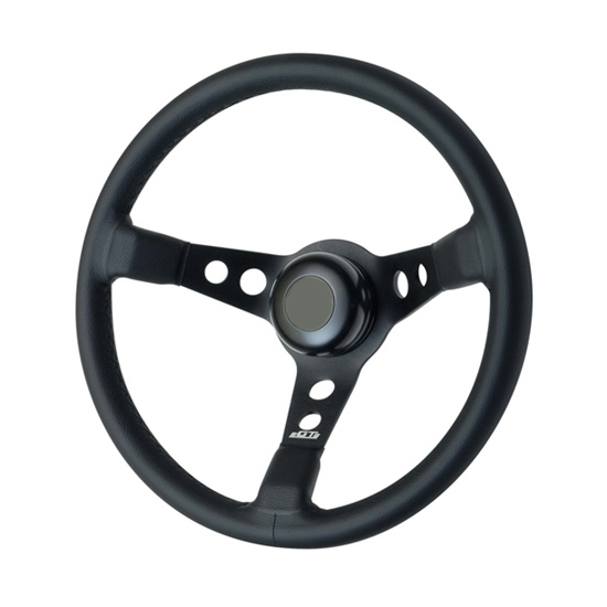 GT Performance 52-4415 GT3 Apex Leather Steering Wheel,Pro-Touring, GT