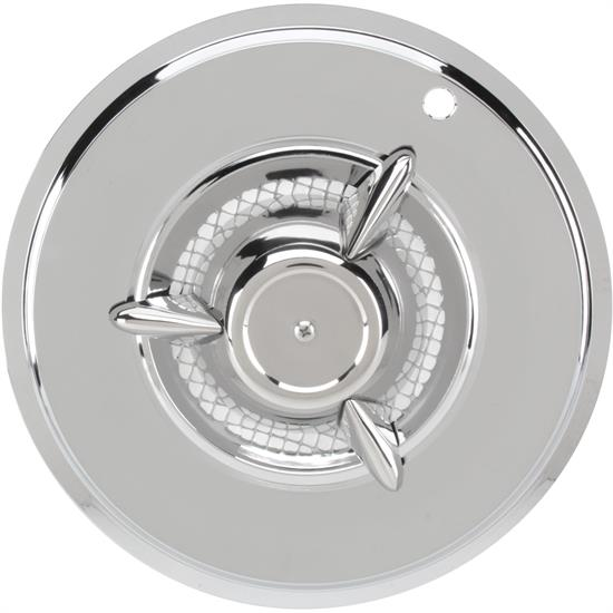 15 Inch Nomad Hubcap, Chrome, Stainless Steel