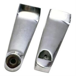 Aluminum Headlight Mounting Brackets, Polished