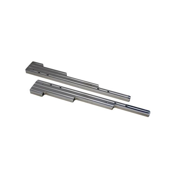 Billet Aluminum Spark Plug Wire Linear Dividers, Ball Milled