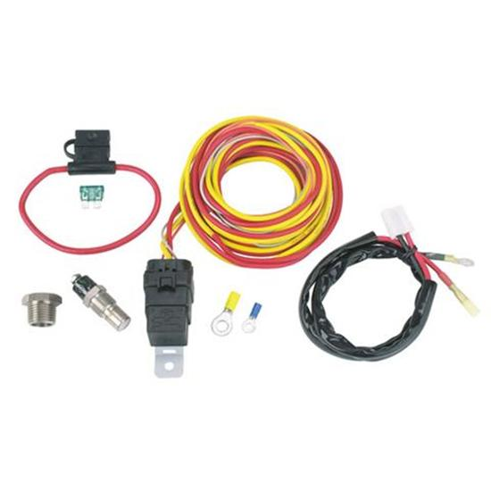 Wiring Harness Making Supplies : Spal thermoswitch relay and wiring harness kit
