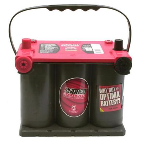 optima batteries 75 25 925 standard red top battery 910 ca. Black Bedroom Furniture Sets. Home Design Ideas