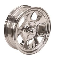 Team III Wheels ET Five Window Wheel-Pol-15x5-5 on 4.5-2-7/8 Backspace