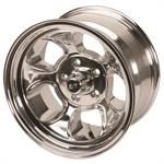 Team III Wheels ET Five Window Wheel-Pol-15x8-5 on 4.5-4 Inch Backspace