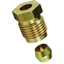 Bob Drake Reproductions B-9243-A Gas Hose Fitting & Ferrule, 1/4""