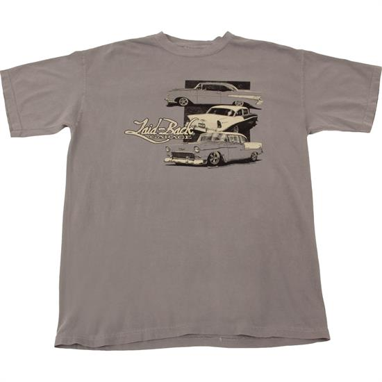 5-6-7 Chevy Laid-Back Garage Grey T-Shirt