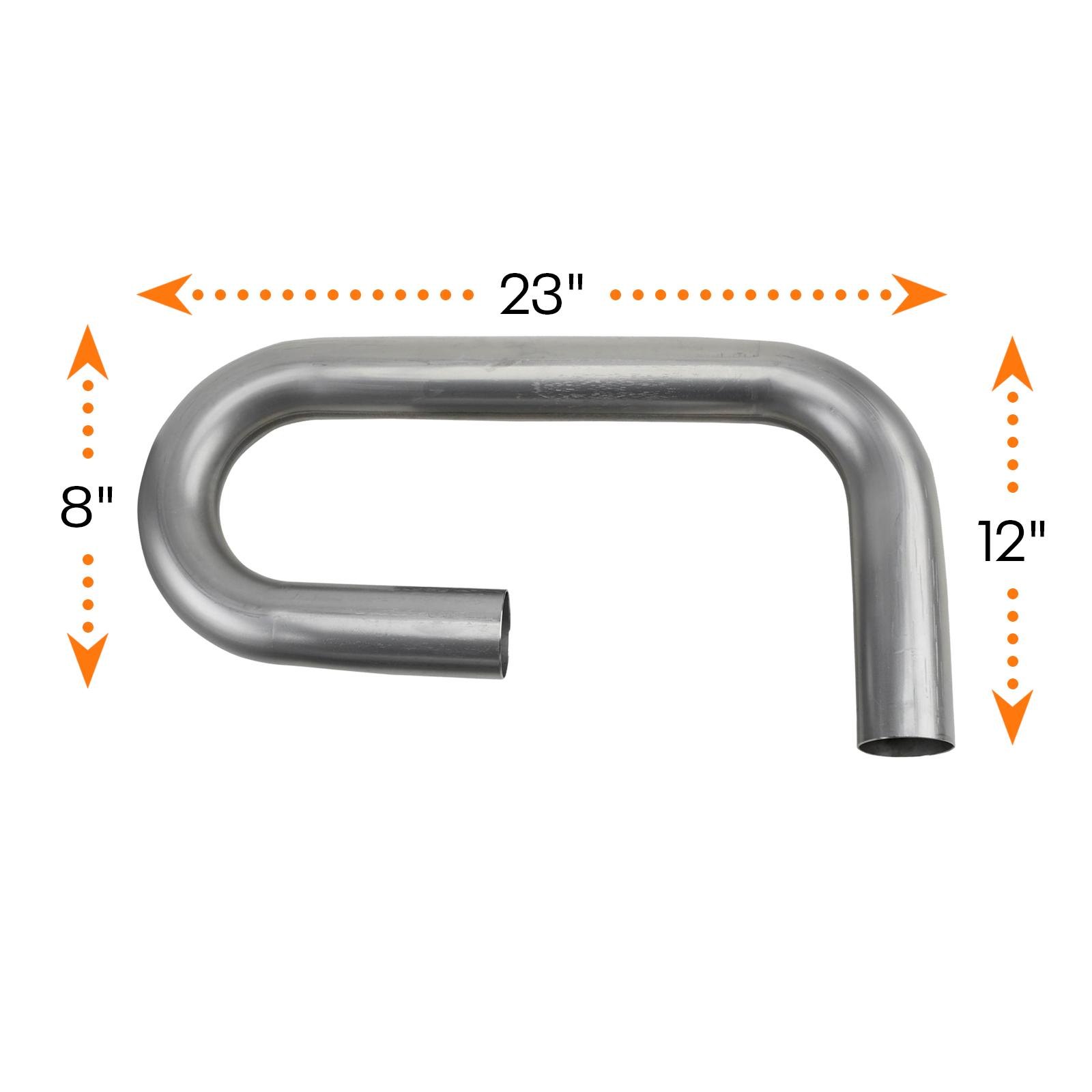 Mild Steel Combo Exhaust Pipe Mandrel Bend//Header Tubing