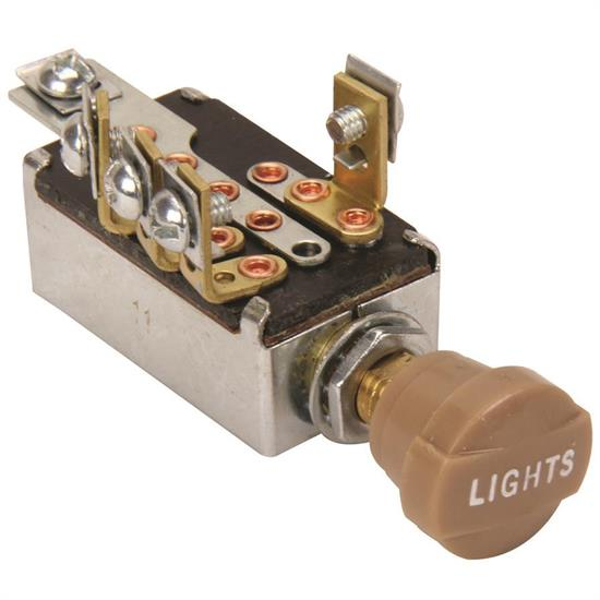 Speedway Universal Headlight Switch with Hi Low