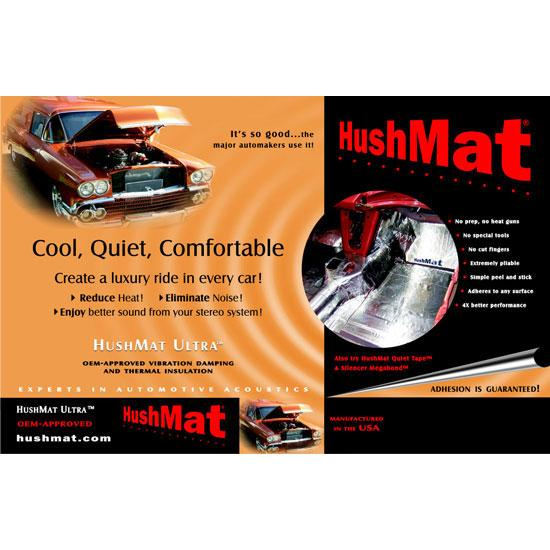 HushMat Ultra Bulk Kit, Thermal and Sound Insulation