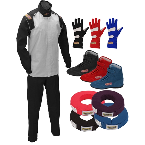 Speedway Single Layer Two Piece Racing Suit Combos