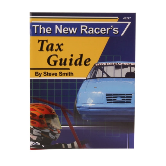 Steve Smith Autosports S217 Book - The New Racers Tax Guide