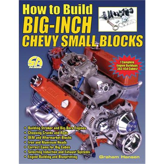 Garage Sale - Book - How To Build Big-Inch Chevy Small Blocks