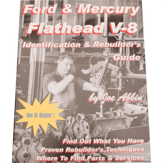 Book - Ford & Mercury Flathead V8 Identification & Rebuilder's Guide