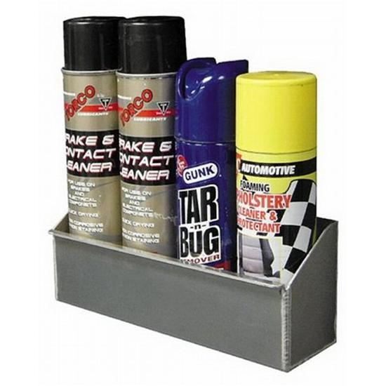 Aerosol 4 or 8 Spray Can Shelf