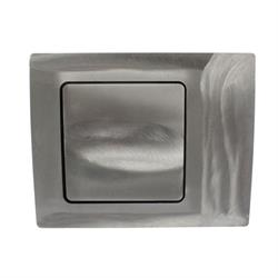 Hagan Street Rods 90 SQ 90 Curve Series Fuel Door, Square