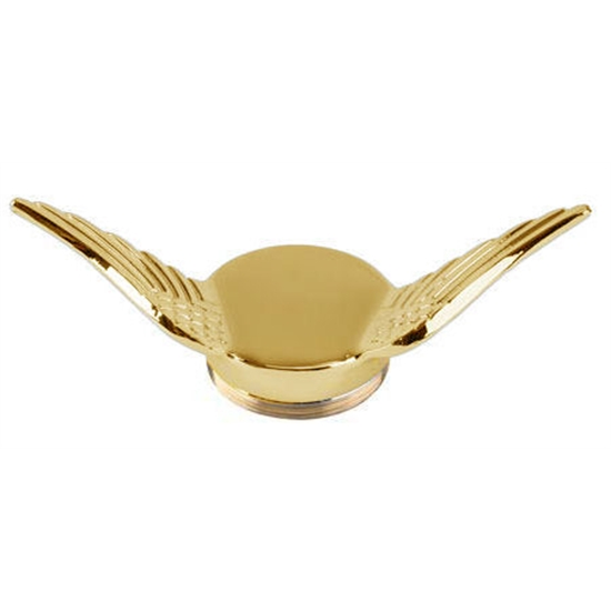Model T Gull Wing Cap, Brass, Undrilled