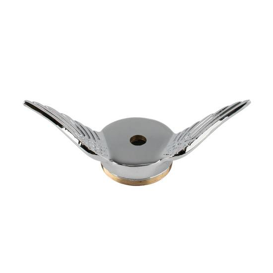 Model T Gull Wing Cap, Chrome, Drilled