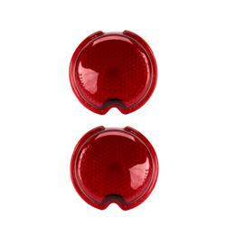 1939 Chevy Glass Taillight Lens, Pair
