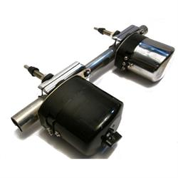 Speedway Black 12 Volt Electric Windshield Wiper Motor Kit