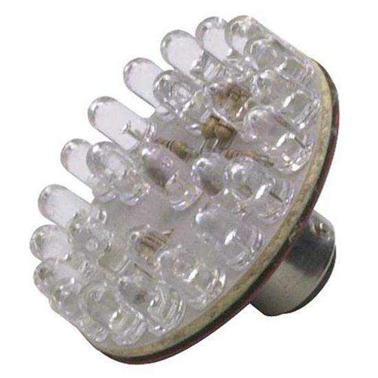 1157 LED Tail Light Bulb, 1-3/4 Inch, Amber