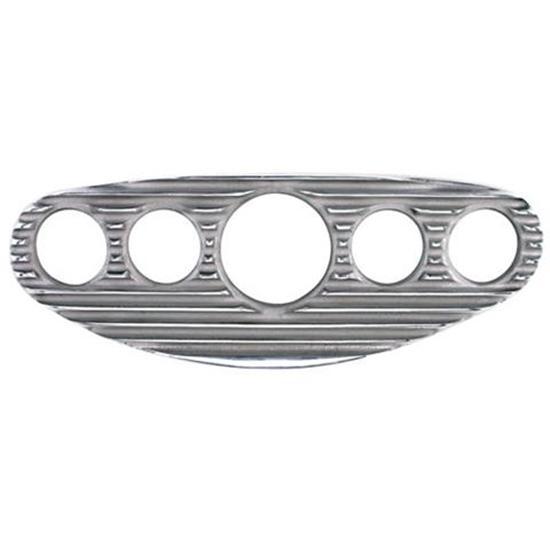 3 8 3 8 Indicator : Speedway finned aluminum gauge dash panel inch ebay