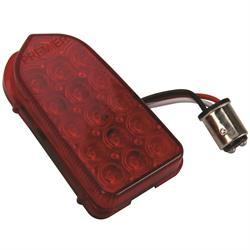 1949-1950 Chevy Red LED Tail Light Lens