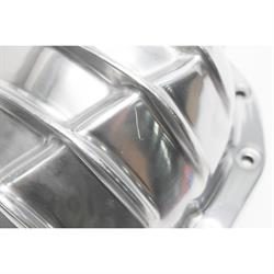 Garage Sale - Finned Pol Alum Rearend Differential Cover, GM 8.875 Inch 12 Bolt